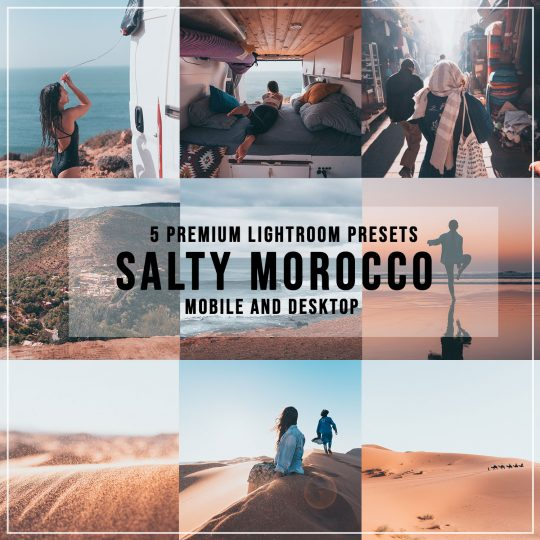lightroom presets morocco